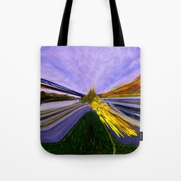 Abstracting Autumn Tote Bag