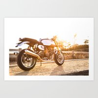 ducati Art Prints featuring Ducati 007 by Austin Winchell