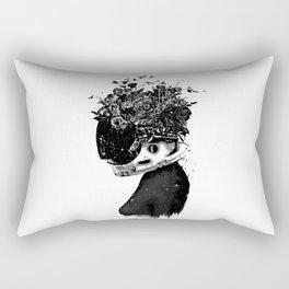 Hybrid girl Rectangular Pillow