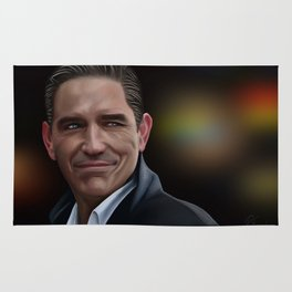 Jim Caviezel as John Reese Rug