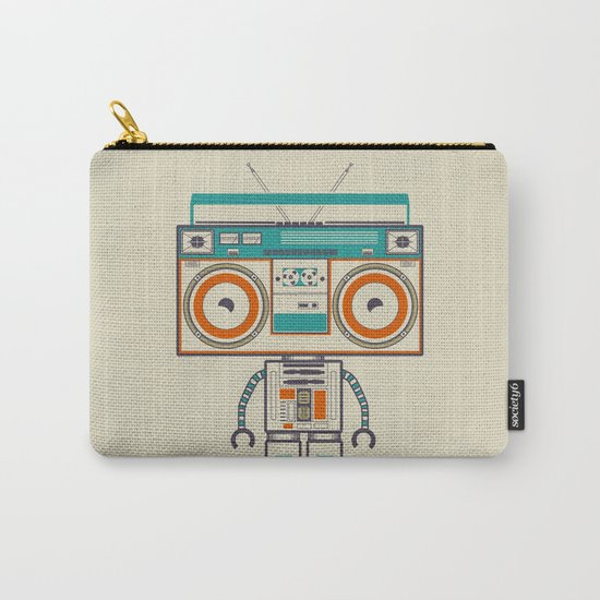 Music robot Carry-All Pouch