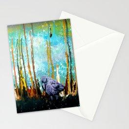 Praying Raven 2 Stationery Cards