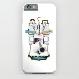 Ignition Stroke iPhone Case