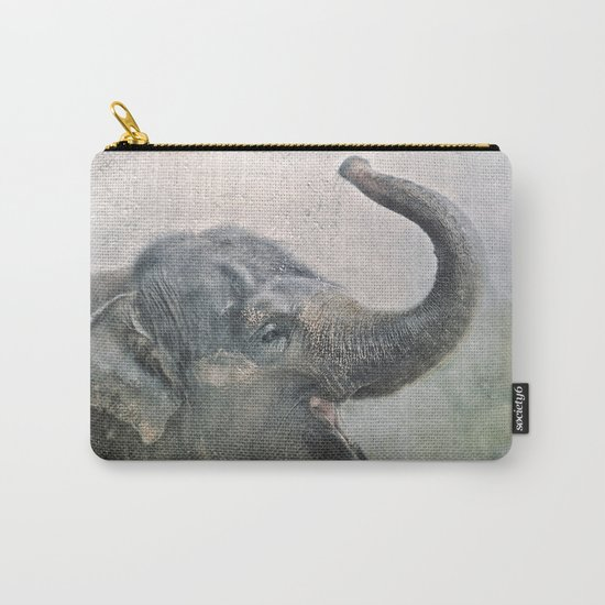 Happy Elephant! Carry-All Pouch
