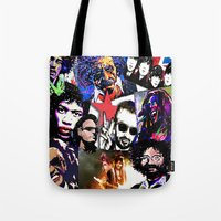 infamous Tote Bags featuring Infamous by FEENNX
