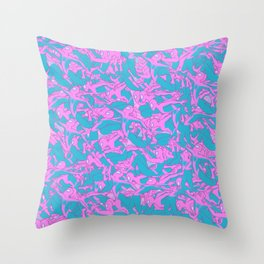 Anyone Can Wear the Mask Throw Pillow