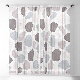 Funny Shapes Sheer Curtain