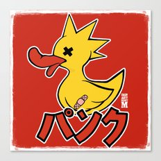 Punk Duck Canvas Print