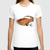 mustang T-shirts featuring Mustang by Portugal Design Lab