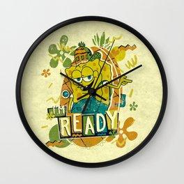Im Ready Im Ready Im Ready ! Wall Clock