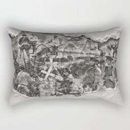 1812 Remembered Rectangular Pillow