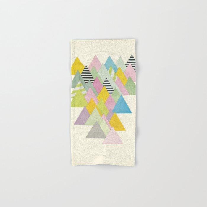 French Alps Hand & Bath Towel