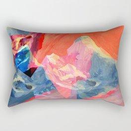 Abstract Mt. Everest Rectangular Pillow