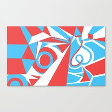 Crystal Landscape Canvas Print
