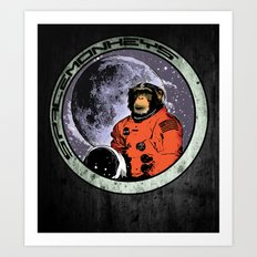 Space Monkeys Art Print