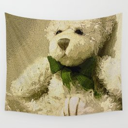 Daddy's Gift Teddy Bear Print Wall Tapestry