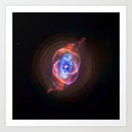 The Cat's Eye Nebula Redux (NASA's Chandra X-ray Observatory) Art Print