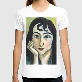 Henri Matisse Lorette with Two Locks of Hair T-shirt