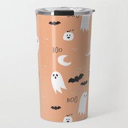 Boo To You - Orange Travel Mug