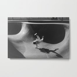 Skatepark Astronaut Metal Print
