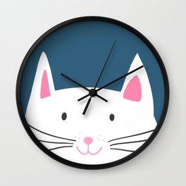 Cat head Wall Clock