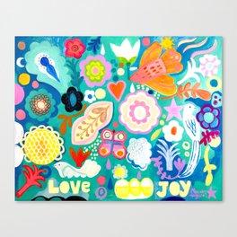 Love and Joy 2 Canvas Print