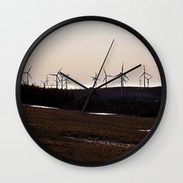 Windmill Ridge Wall Clock