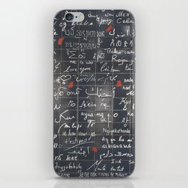 The Wall Of Love iPhone Skin