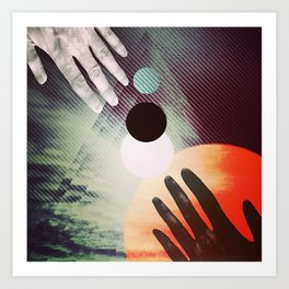 (Almost) Touching Art Print