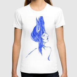 Blue Woman T-shirt