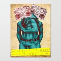 radio Canvas Prints featuring Radio by gamunev