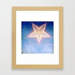 Denim Framed Art Print