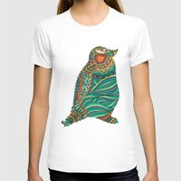ethnic T-shirts featuring Ethnic Penguin by Pom Graphic Design
