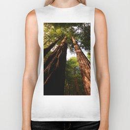 Redwood Tree Tops Biker Tank