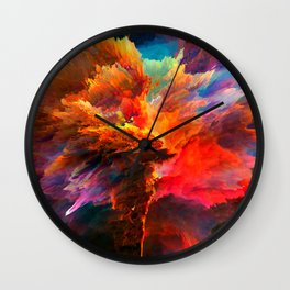 Mákis Wall Clock