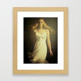 Dancing Girl Framed Art Print