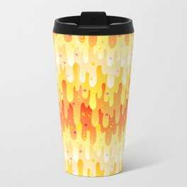 Candy Corn Slime Travel Mug