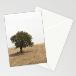 The solitary holm oak Stationery Cards