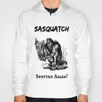 sasquatch Hoodies featuring SaSQUATch by Is It Moist?