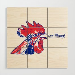 France Les Blues (The Blues) ~Group C~ Wood Wall Art