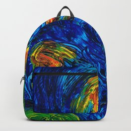 Impressionist Koi Fish by Sharon Cummings Backpack