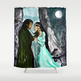 One Lifetime Shower Curtain