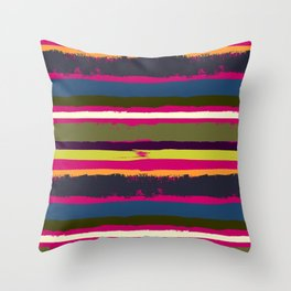 Spurious Rainbow Throw Pillow