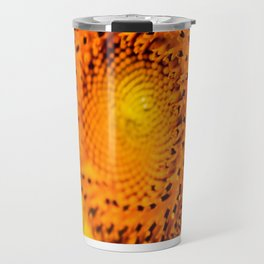 In your face yellow Travel Mug