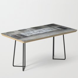 Now is our time Coffee Table