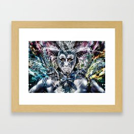 Close Encounters with Glen Alen in OvahFx - Art without a brush  Framed Art Print