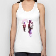 Space Men Unisex Tank Top