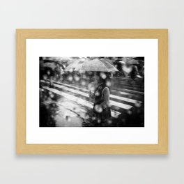So lost in thoughts… Framed Art Print