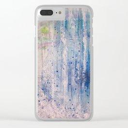 11 11 11 11 WaterFall Vortex Clear iPhone Case