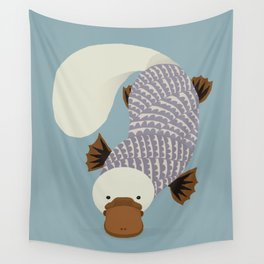 Whimsical Platypus Wall Tapestry